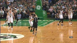 Jeremy Lin Highlights - 4/10/17 Nets at Celtics