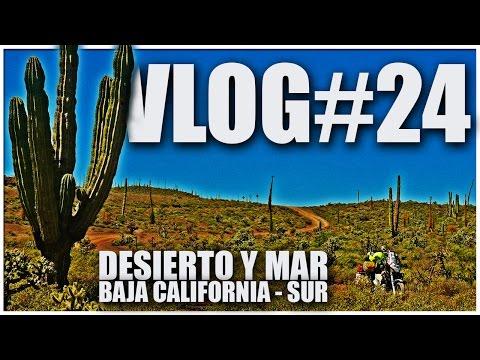 MOTO VLOG VIAJERO #24 - Desierto y Mar Baja California Sur