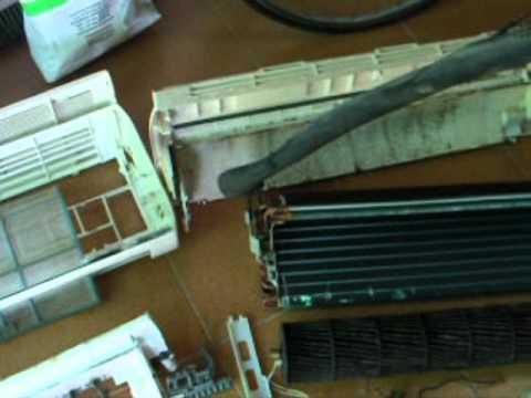 desguace aire acondicionado split unidad interior youtube