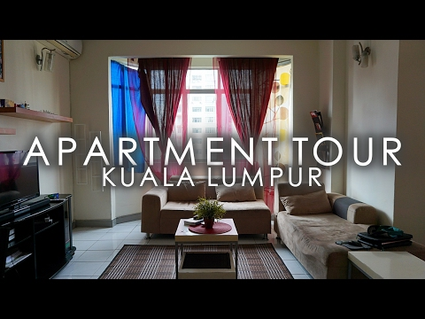 OUR NEW APARTMENT IN KUALA LUMPUR!