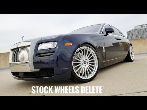 MOD2FAME: 2014 Rolls Royce Ghost With Upgraded Rims