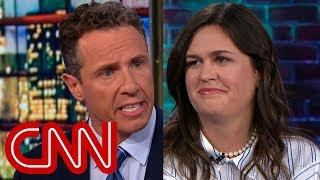 Watch Chris Cuomo\'s full interview with Sarah Sanders
