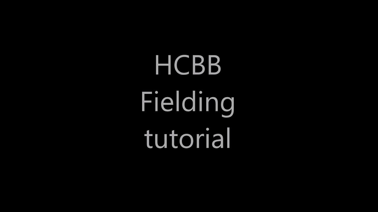 Roblox Hcbb Fielding Tutorial Youtube