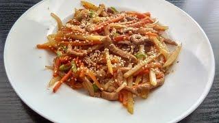 Хей Лун - тайский горячий салат/ Thai Hot Salad