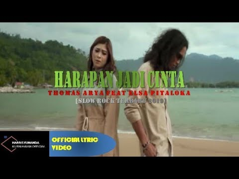 Free Download Thomas Arya & Elsa Pitaloka - Harapan Cinta Jadi Dilema ( Official Lyric Video ) Mp3 dan Mp4