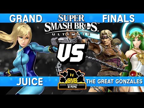 Smash Ultimate Tournament Grand Finals - Juice (Zero Suit Samus) vs Great Gonzales (Palutena) CNB172