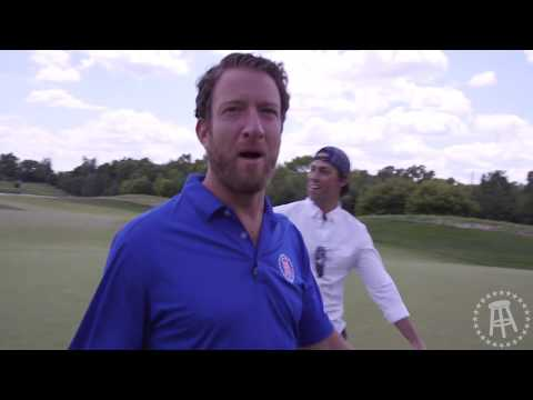 El Pres, Frankie and Fore Play at Kyle Rudolph's Golf Tournament