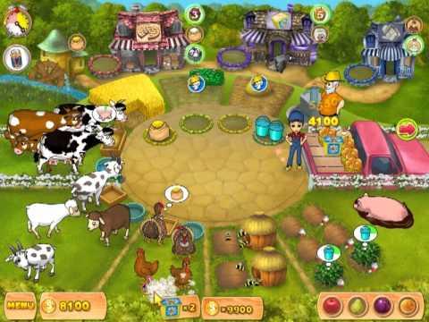 ферма мания играть онлайн