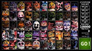Five Nights at Freddy's: The Ultimate Custom Night [Troll]