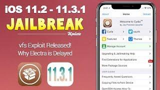 iOS 11.3.1 Jailbreak: VFS Exploit RELEASED! ..But it