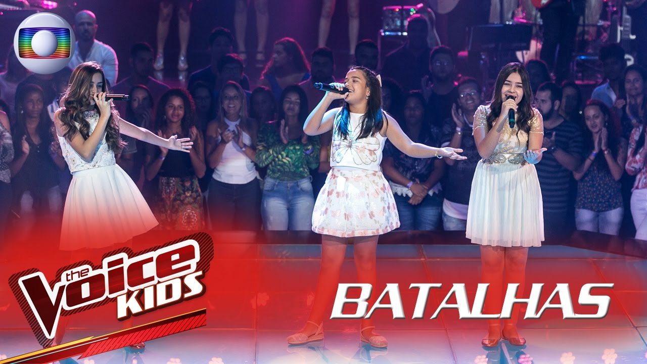 Marcela Morais Maria Alice E Mayra Rodrigues Cantam Zero A Dez Nas Batalhas The Voice Kids Youtube