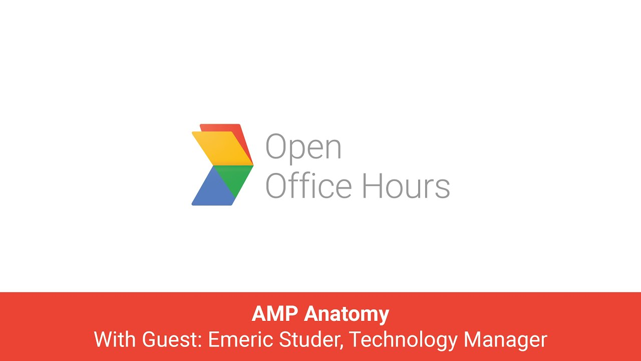 News Lab French AMP Office Hours: AMP Anatomy with Emeric Studer ...