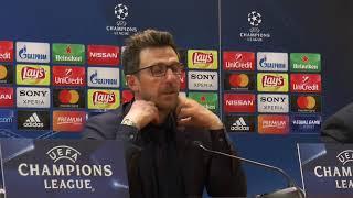 """Conferenza Di Francesco post Liverpool: """"Dispiace non aver dato alla gente una grande emozione"""""""