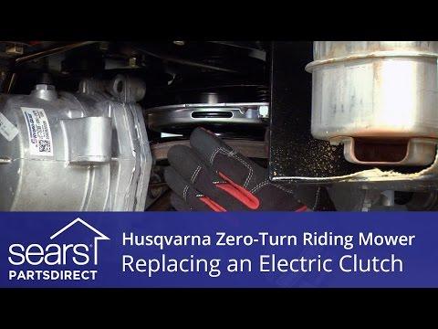 How to Replace a Husqvarna Zero-Turn Riding Mower Electric Clutch
