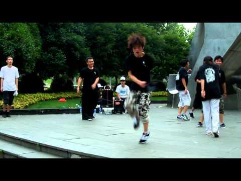 Shanghai shuffle dance...
