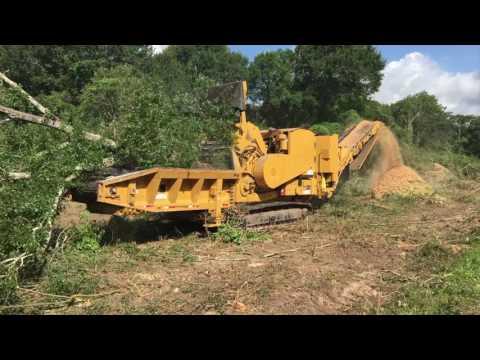 Massive Landclearing HG6800TX Horizontal Grinder