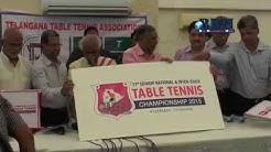 Telangana State Table Tennis Association (TSTTA) Hyderabad 29 - 08 - 2015