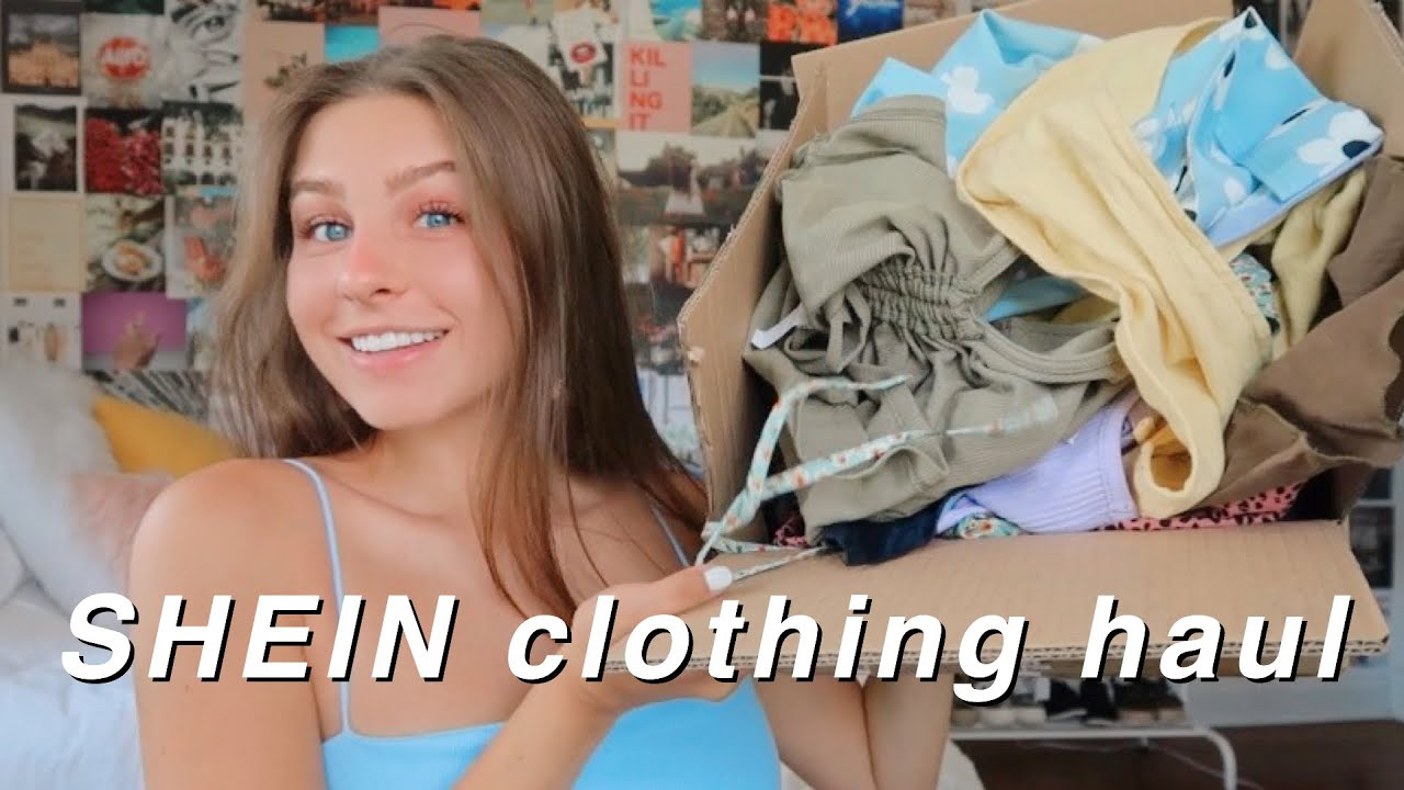 HUGE SHEIN TRY-ON SUMMER CLOTHING HAUL - trendy & affordable clothing