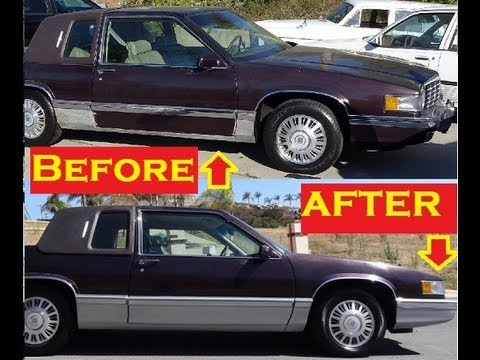 car trim molding repair bumpers doors diy cheap paint