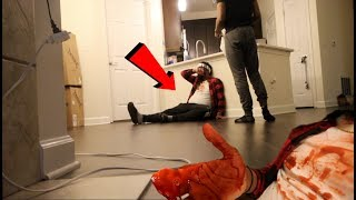DEAD BROTHER PRANK ON BROTHER!! | HIS REACTION!!.LOL *MUST WATCH*