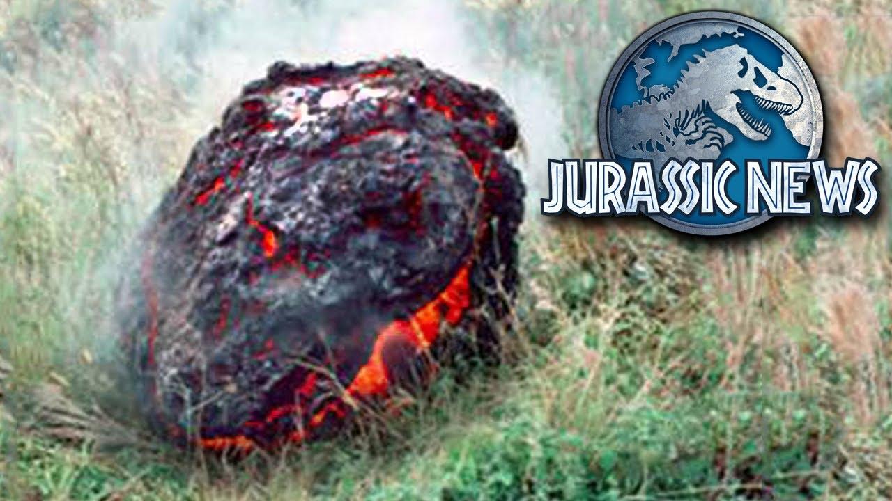 V Is For Volcano Jurassic News - *Spoil...