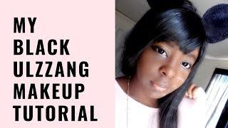 My Black Ulzzang Makeup Tutorial