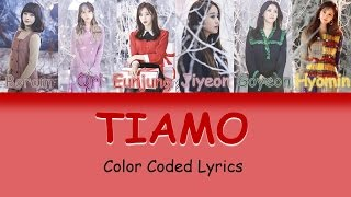 T-ara Tiamo Lyrics