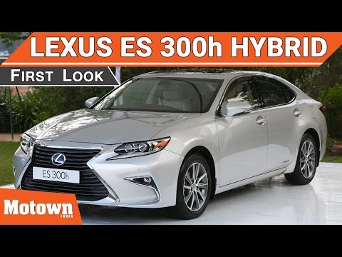 Lexus ES 300h | First Look