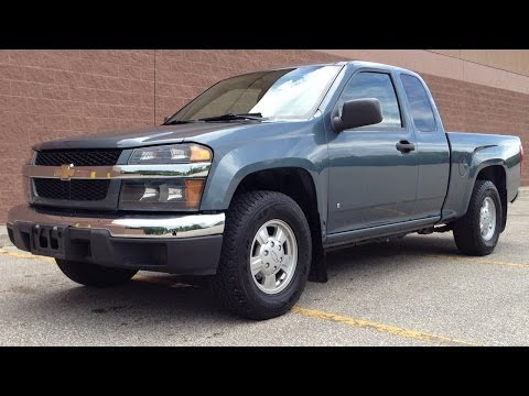 Used Chevy Colorado | 2007 Chevrolet Colorado LT Review