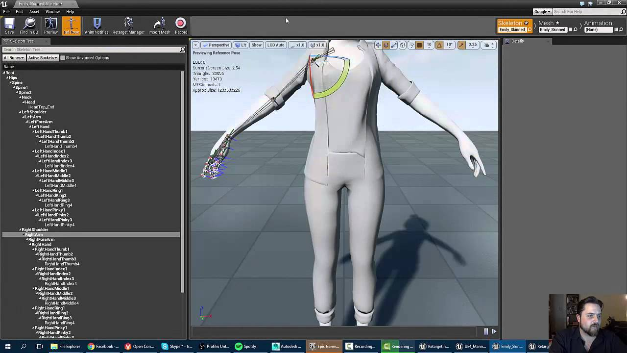 Animation Retargeting unreal 4 tutorial: animation retargeting with different skeletons