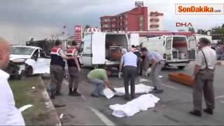 Lüleburgaz'da Feci Kaza  4 Ölü, 2 Yaralı