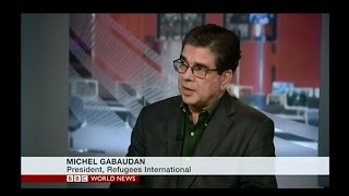 Michel Gabaudan discusses Mediterranean migration on BBC World News America