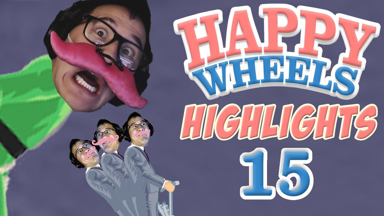 NAUGHTY GLITCH - Happy Wheels - YouTube