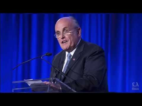 Rudolph Giuliani's Obama remark draws fire from top Democrat