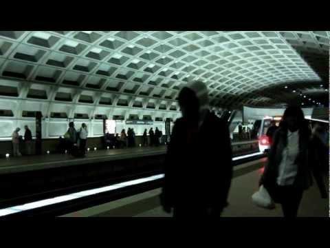 The Subway in Washington DC - WMATA Metro