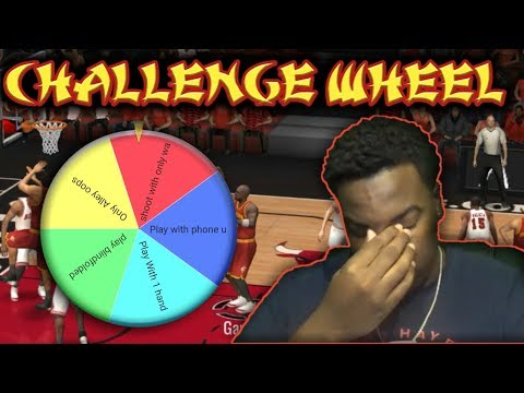 NOTHING BUT ALLEY OOPS!!! THE NBA LIVE MOBILE CHALLENGE WHEEL EP. 3!!!