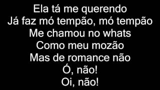 Gambar cover MC Don Juan Part. MC LB - Não Vou Te Dar Atenção (letra)