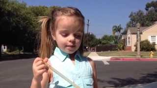 cute girl sings brady bunch song surprise ending