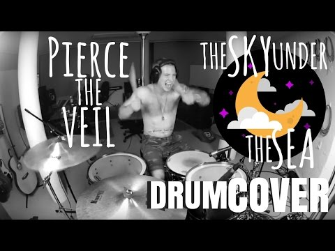 Morgan Blake : Pierce The Veil - The Sky Under The Sea (DRUM COVER)