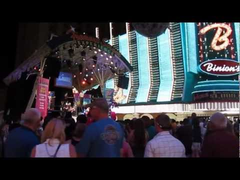 Fremont Street Experience in Las Vegas Old Town (Downtown) (2011)