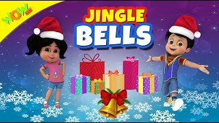 Jingle Bells Christmas Song for Kids | Hindi Songs for Children | Vir | WowKidz