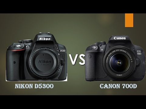 Nikon D5300 vs Canon 700D(Rebel T5i) (Straight to the point)