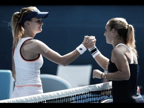 Dominika Cibulkova VS Agnieszka Radwanska Highlight 2014 AO SF