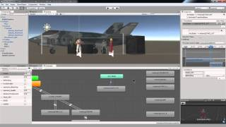 Die Schaffung einer Street Fighter-Spiel mit Unity - 15 Umsetzung AI mit einer state-machine für den Kampf gegen