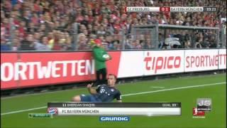 фрайбург - Бавария 1:1 Обзор матча. Все голы