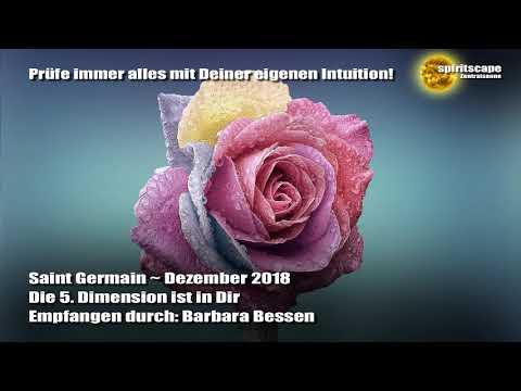 Saint Germain - Dezember 2018 - Die 5. Dimension befindet sich in Dir
