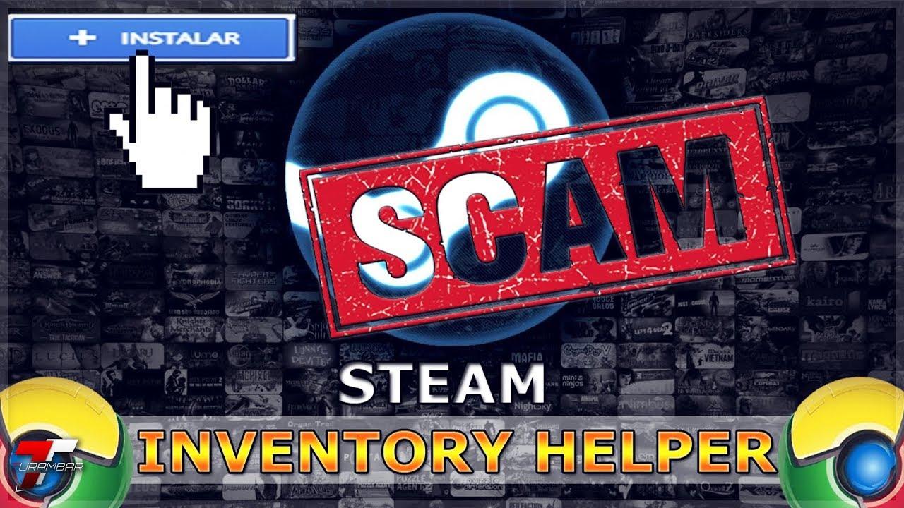 scam steam inventory helper