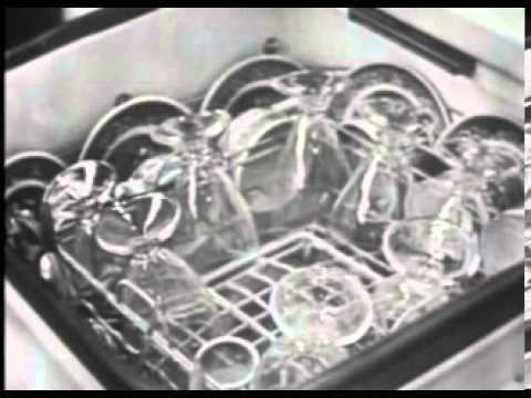 VINTAGE 1953 WESTINGHOUSE DISHWASHER COMMERCIAL