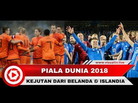 Piala Dunia 2018: Belanda Gagal Lolos, Islandia Jadi Juara Grup I