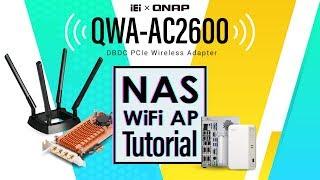 Ev ve endüstriyel uygulamalar Oluşturmak için bir Wi-Fi AP QWA-AC2600 öğretici: